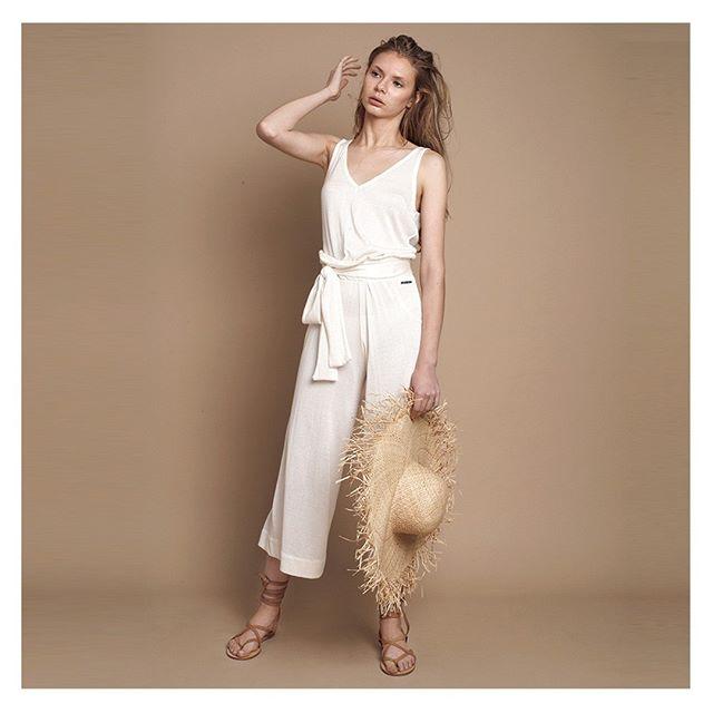pantalones de lino Agostina Bianchi verano 2021