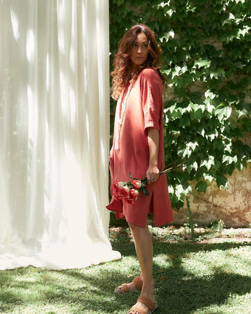 tunica bambula verano 2021 Marcela Pagella