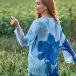 Blusa y túnicas estampadas para mujer verano 2021 - Exordio