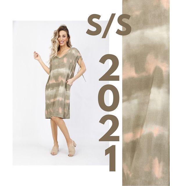 vestido batik Anna Fey verano 2021