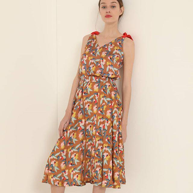 vestido estampado Vero alfie verano 2021