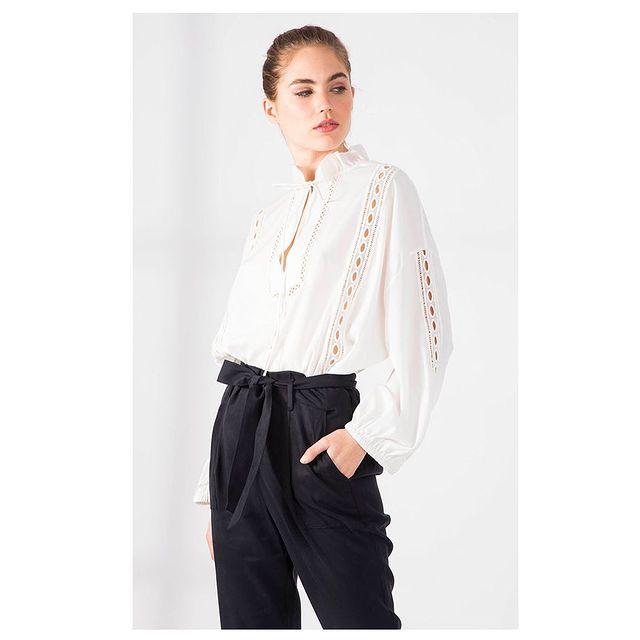 camisa blanca Paula Cahen D Anvers verano 2021