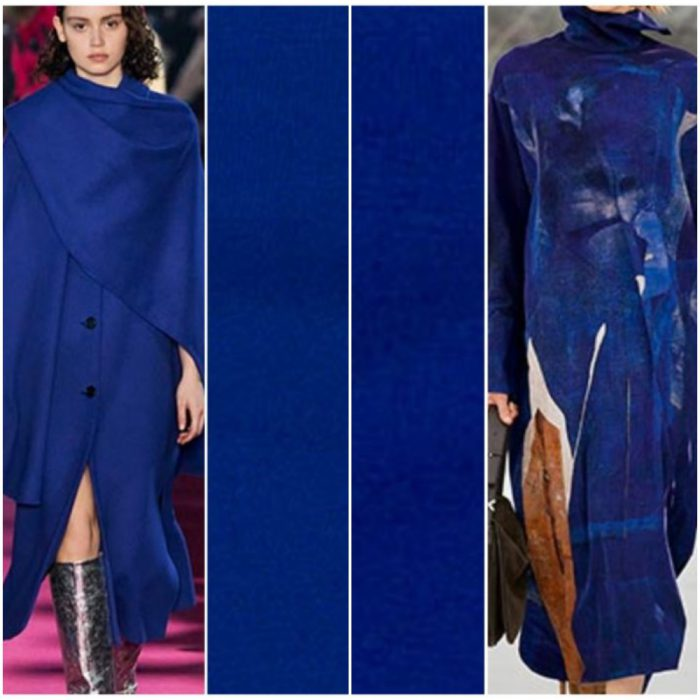 Colores de moda invierno 2021 Tonos azules