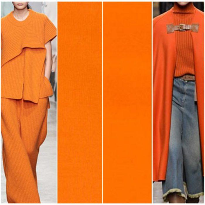 Colores de moda invierno 2021 naranjas