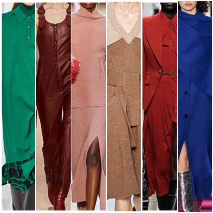 Colores de moda otono ivnierno 2021