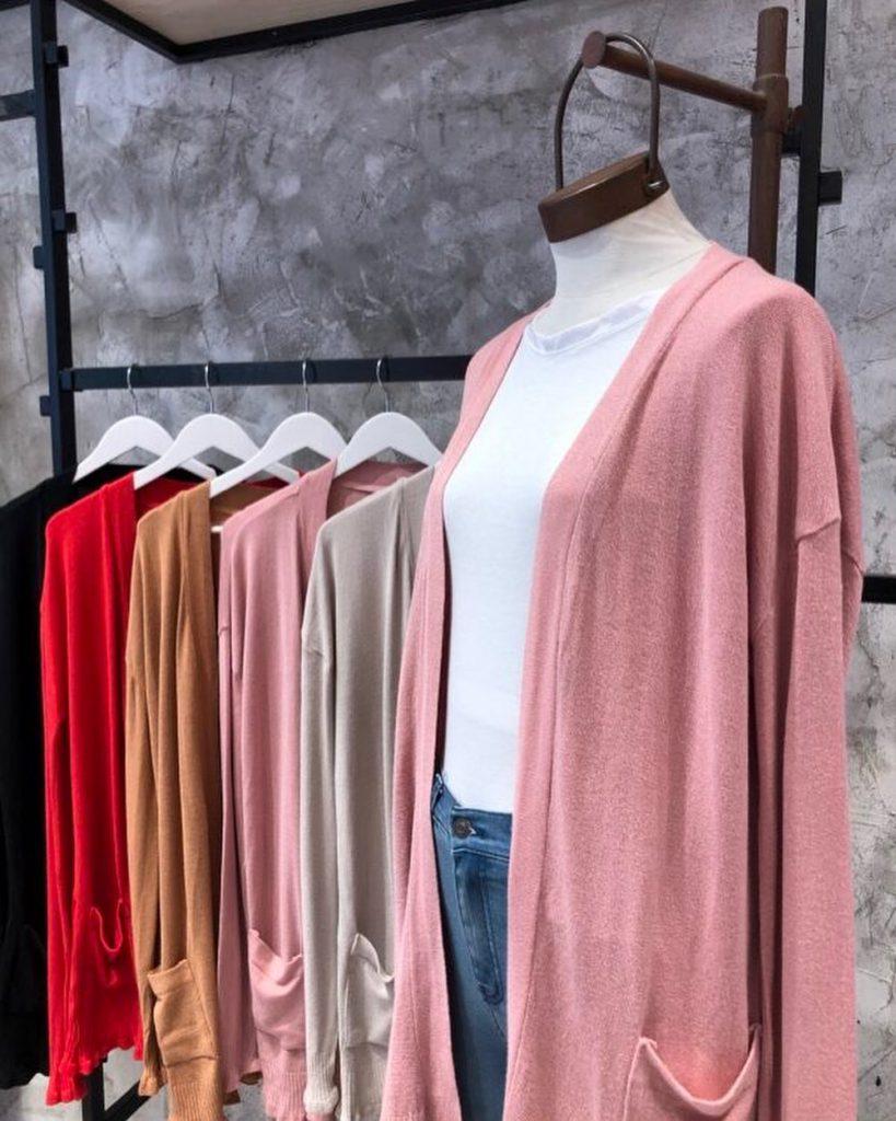 Hera Style Cardigans largos tejidos invierno 2021