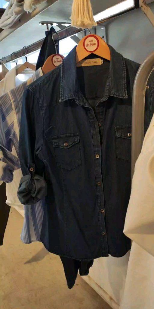 Las taguas Camisa de jeans oscuras Otono invierno 2021