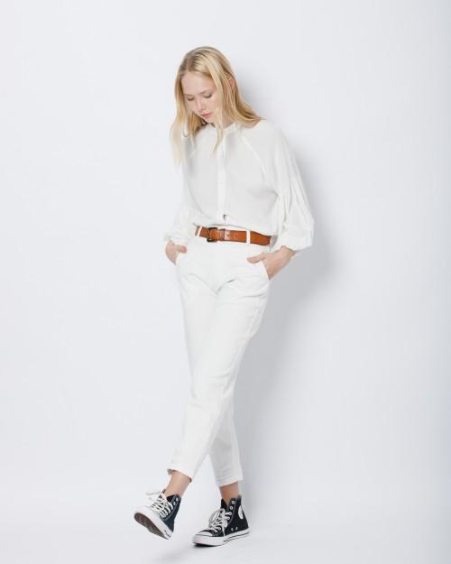 camisa blanca mujer Wanama invierno 2021