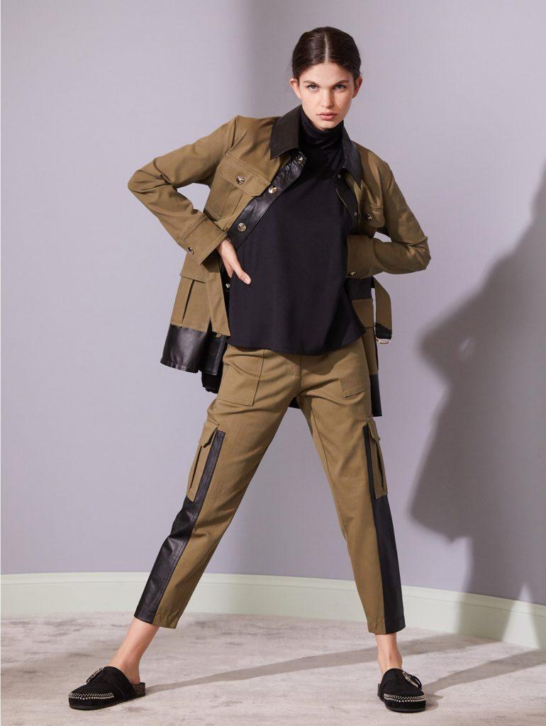 conjunto pantalon y chaqueta Jazmin Chebar invierno 2021