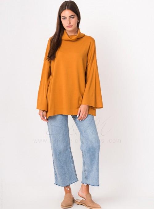polera tejida sm sweaters invierno 2021
