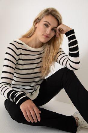 Sweater a rayas Yagmour invierno 2021 Senoras