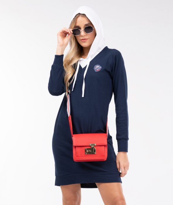 buzo vestido con capucha algodon mangas largas vitnik invierno 2021