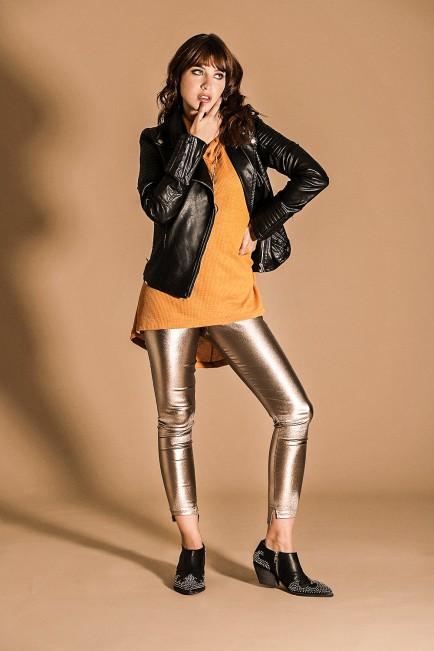 calzas metalizadas Brandel invierno 2021