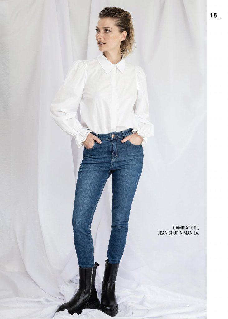 camisa blanca mujer asterisco invierno 2021