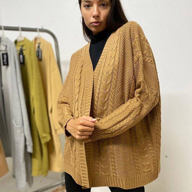 cardigan de lana tramps invierno 2021