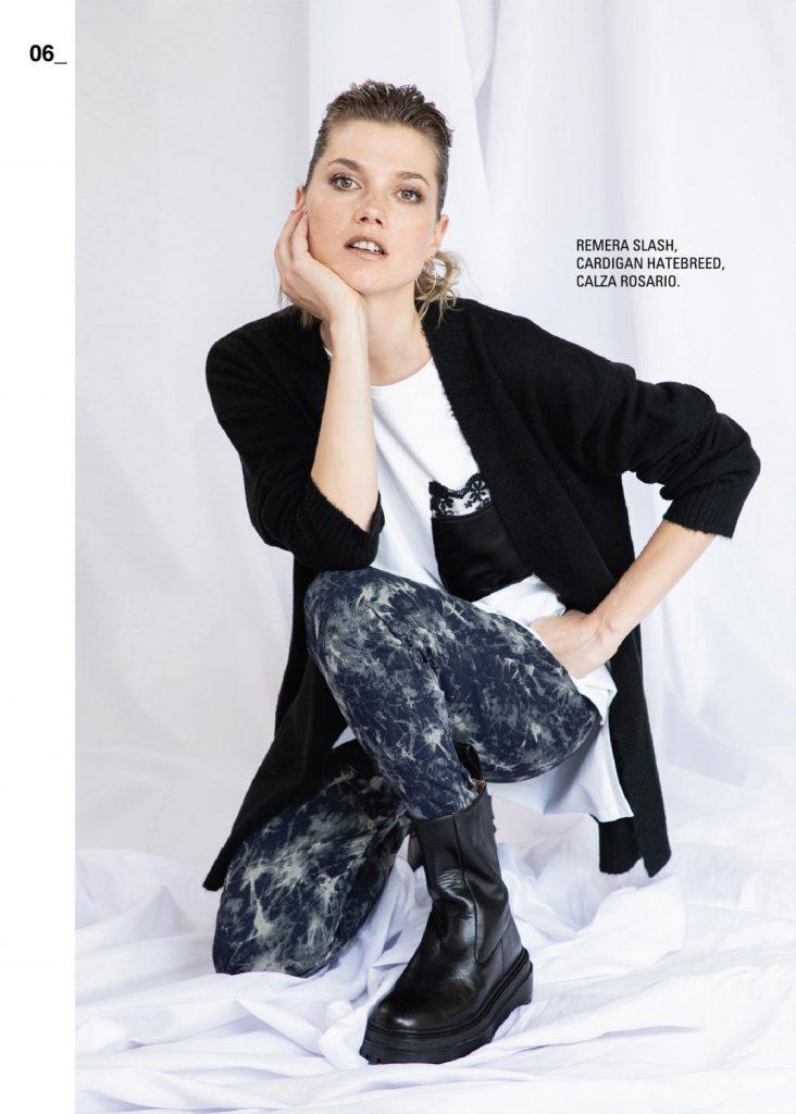 cardigan lrgo con calza batik asterisco invierno 2021