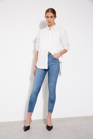 chupin con camisa blanca mujer St Marie invierno 2021