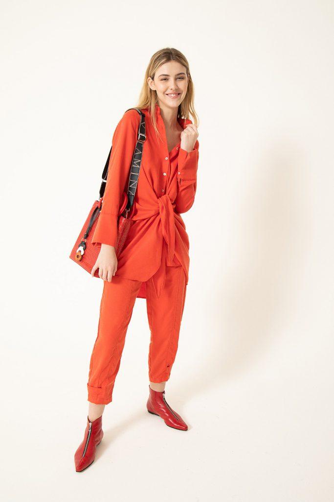 conjunto jogger y camisa mujer vitamina invierno 2021