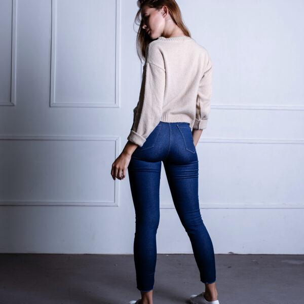 jeans con buen cALCE ecoloe invierno 2021