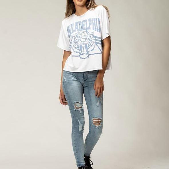jeans con rotutas Pura Pampa invierno 2021