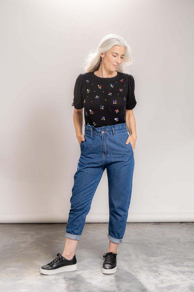 jeans mom invierno 2021 La Cofradia