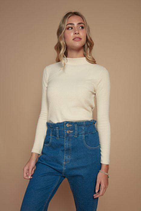 jeans tiro alto Peuque invierno 2021