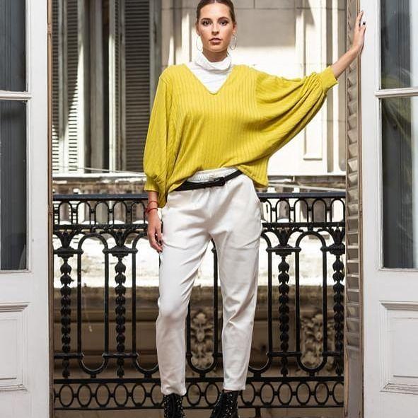 pantalones de gabardina Pura Pampa invierno 2021