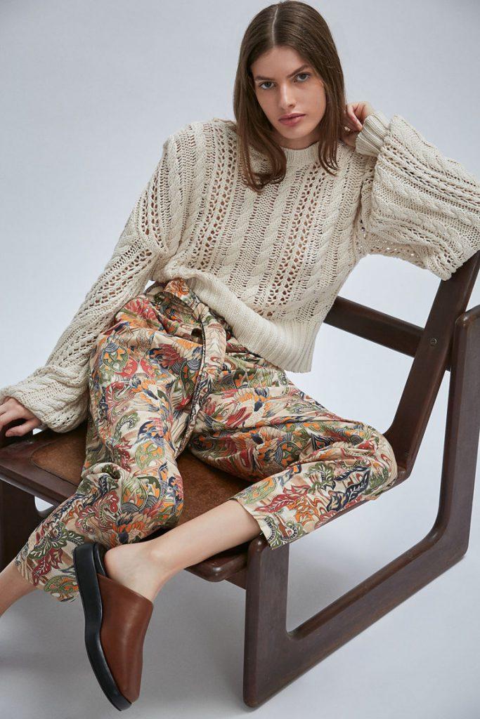 pantalones estampados invierno 2021 Maria Cher