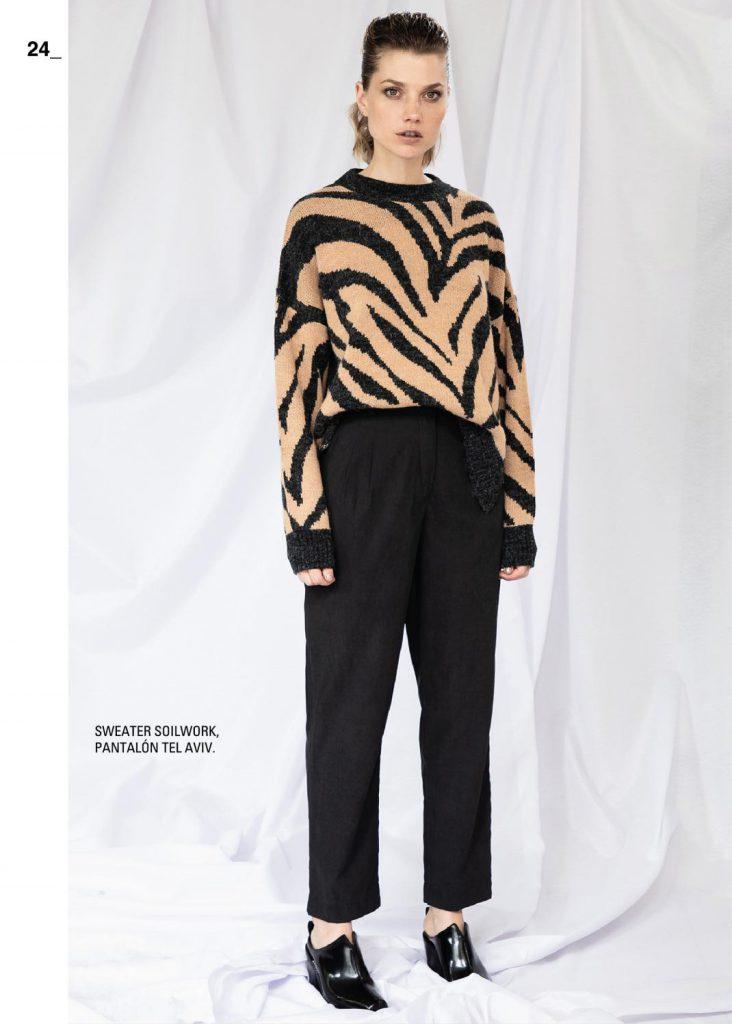 sweater estampados mujer asterisco invierno 2021