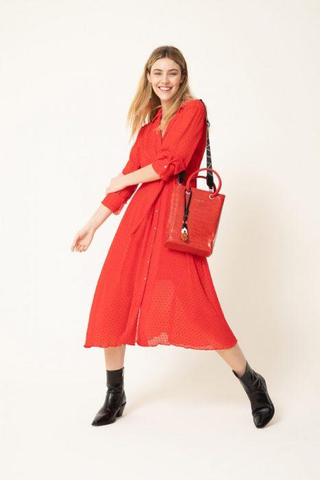 vestidos camiseros para el dia mujer vitamina invierno 2021