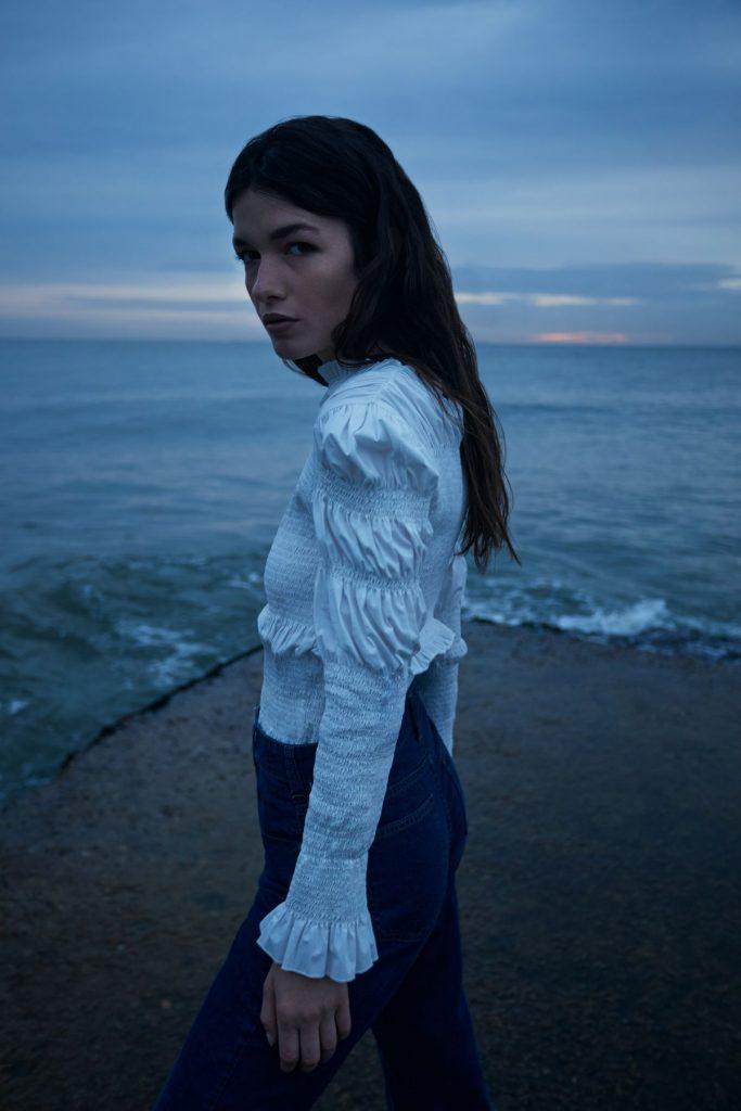 blusa manga globo ossira invierno 2021