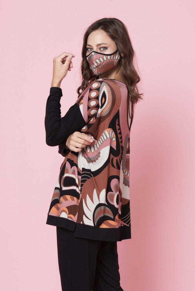 camisola estampada senoras invierno 2021 Adriana Costantini