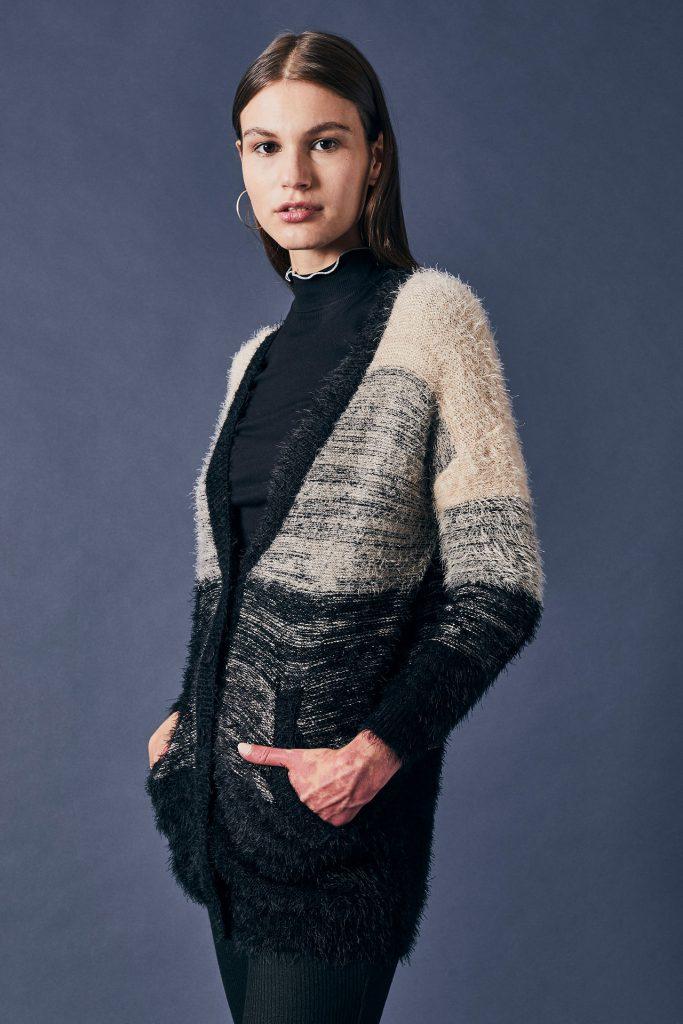 cargigan lana tejido invierno 2021 Cuesta Blanca