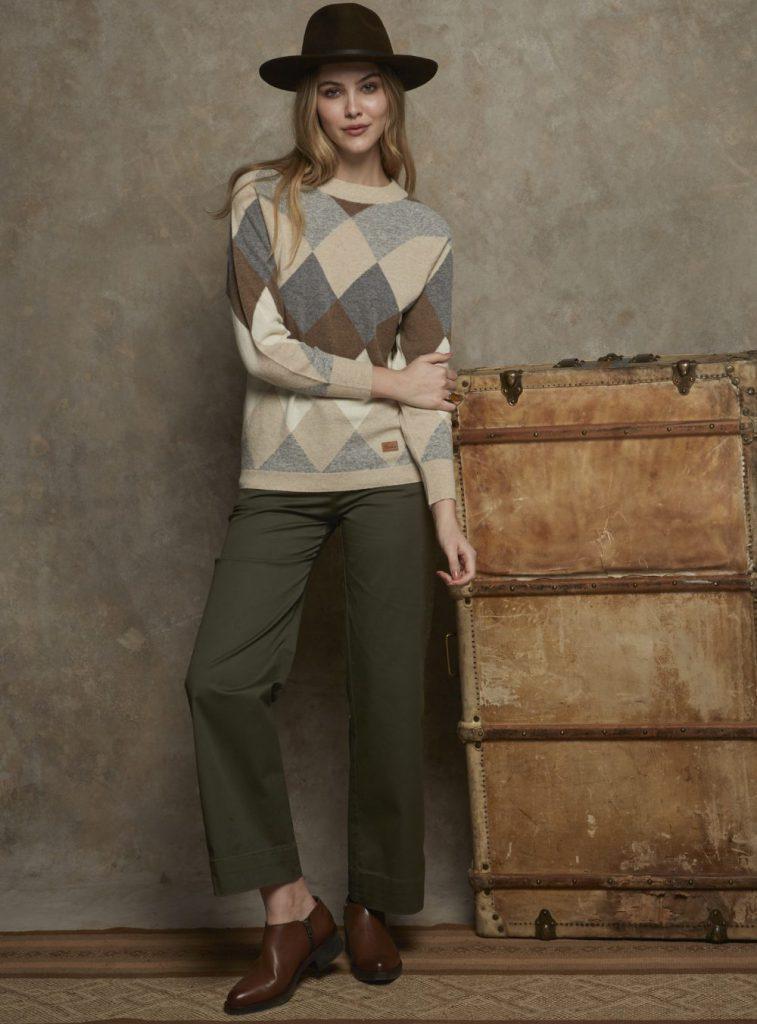 sweater rombo mujer Cardon invierno 2021