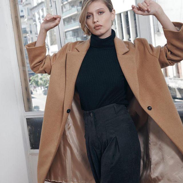 blazer largo abrigo mujer Mancini invierno 2021