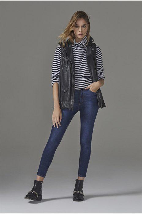 chupine azul lavado Adicta Jeans invierno 2021
