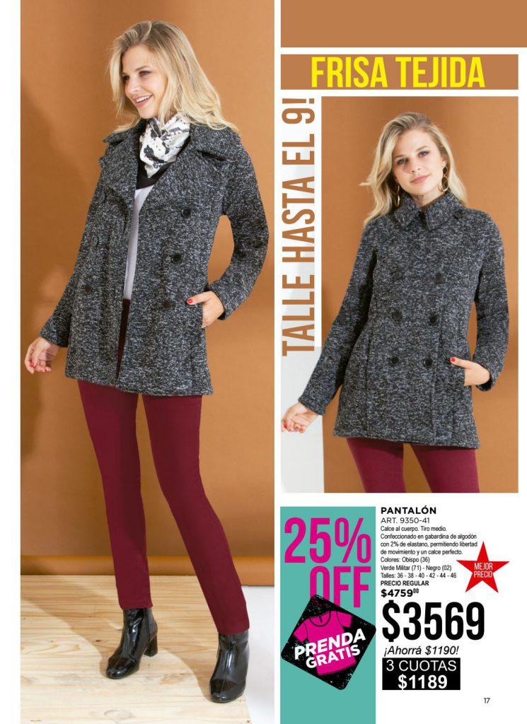 pantalon de gabardina chupin colores juana bonita invierno 2021