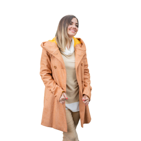 saco oversize con capucha normandie invierno 2021