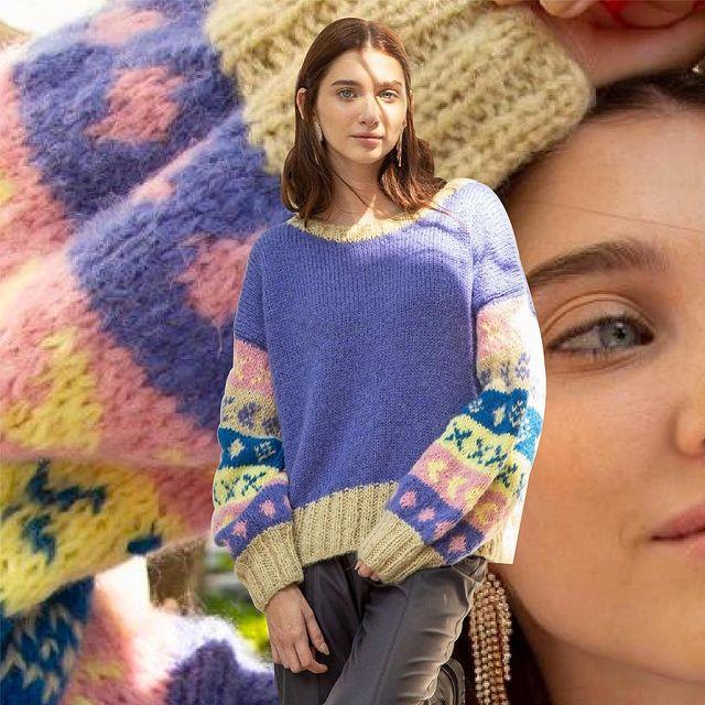 buzo tejido lana juvenil Agustina Saquer invierno 2021