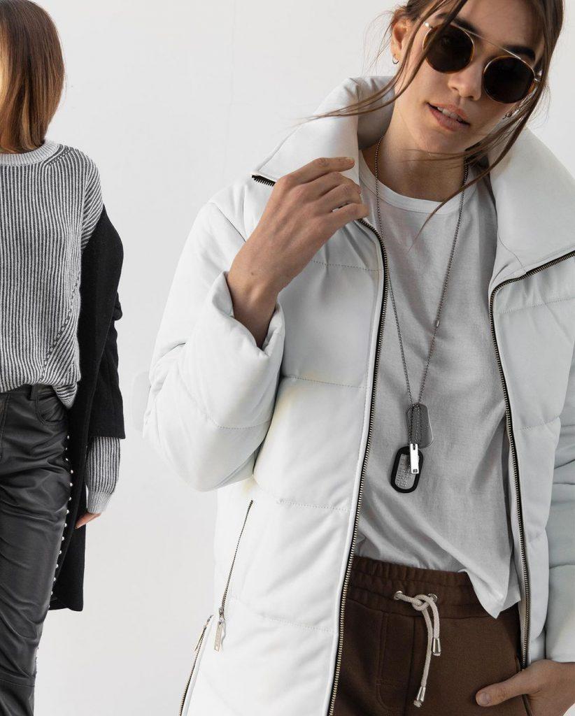 camperon blanco Camperas de moda invierno 2021 Boken