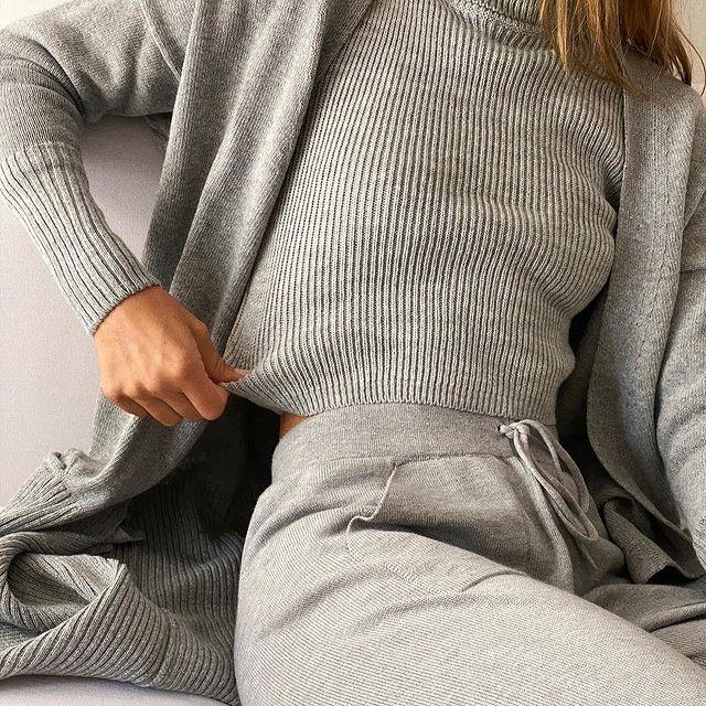 cardigan largos Piccola basicos de moda invierno 2021