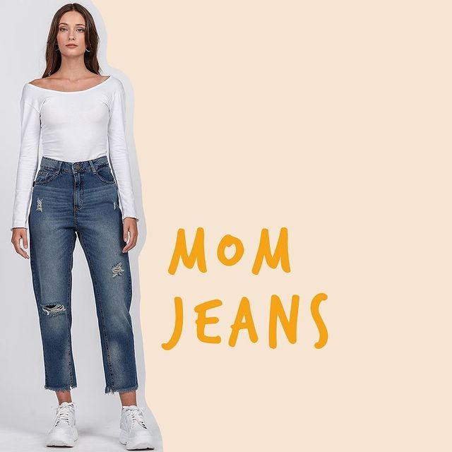 jeans mom AF jeans coleccion invierno 2021