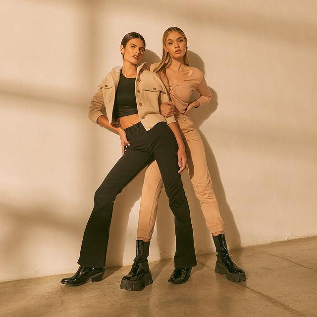 oxford y babucha gabardina AF jeans coleccion invierno 2021