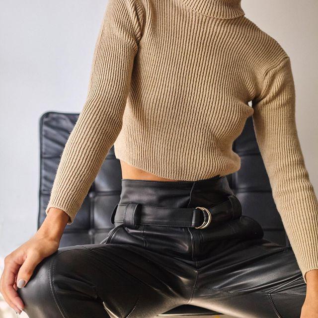polera top Piccola basicos de moda invierno 2021