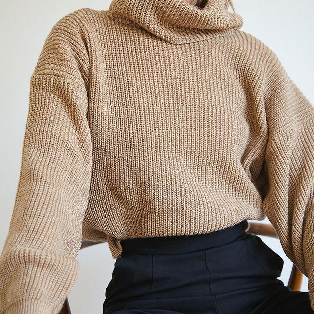 poleras juveniles mujer Piccola basicos de moda invierno 2021