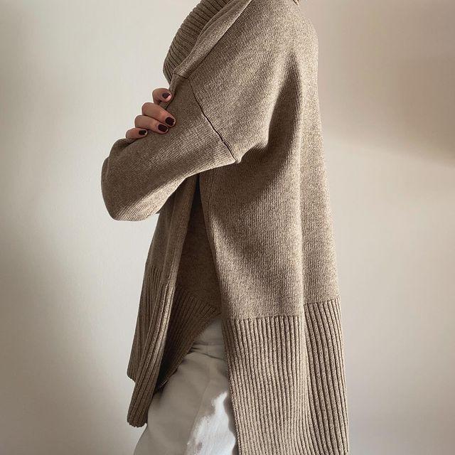 poleron holgado Piccola basicos de moda invierno 2021