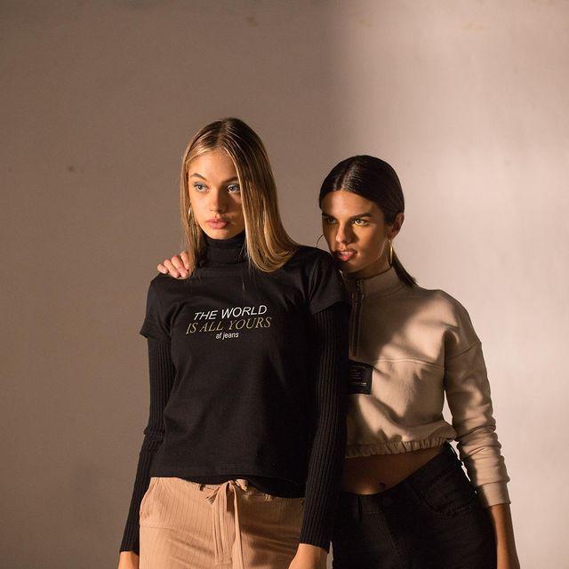 remeras y top poleras AF jeans coleccion invierno 2021