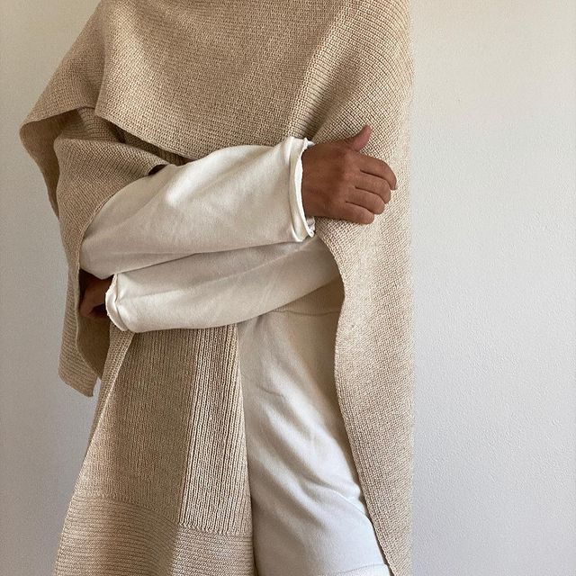 ruanas juveniles Piccola basicos de moda invierno 2021
