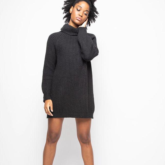 sweater vestido Lovely denim invierno 2021