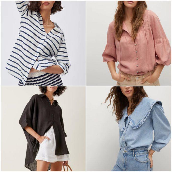 Camisas de moda verano 2022 Argentina